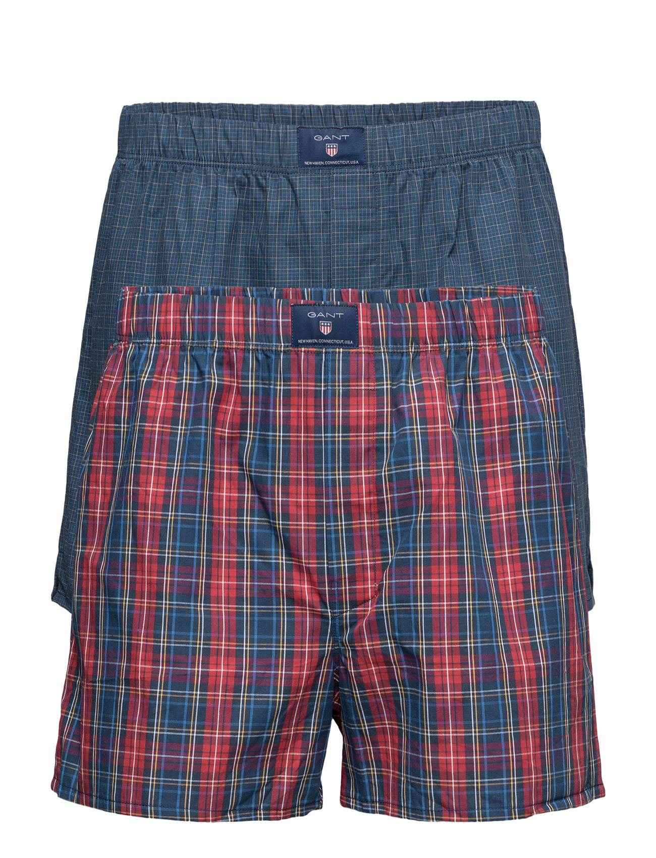 GANT 2-Pack Boxer Sh Yale Madison Tunnel