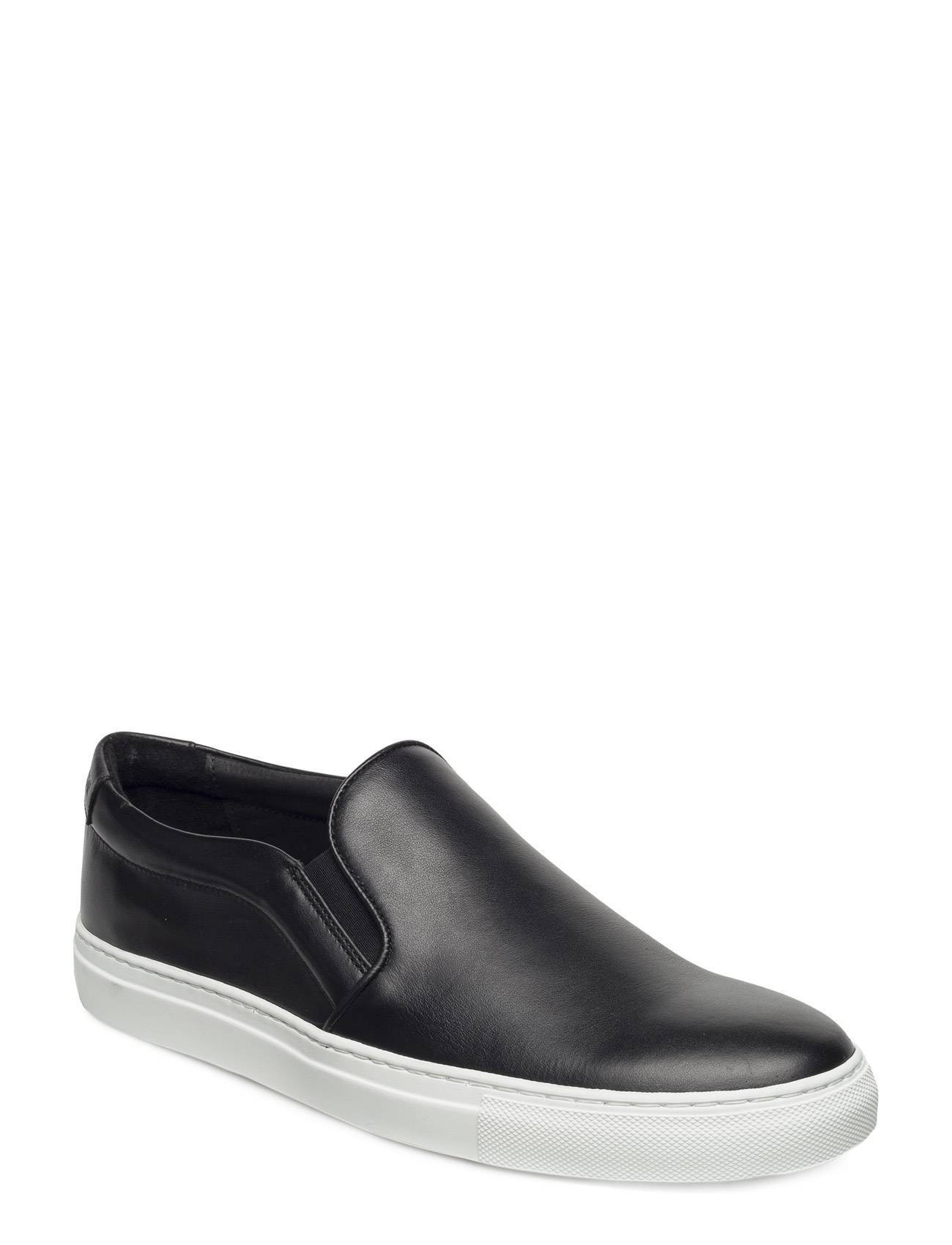 J. Lindeberg Slip-On Sneaker Combo Leather