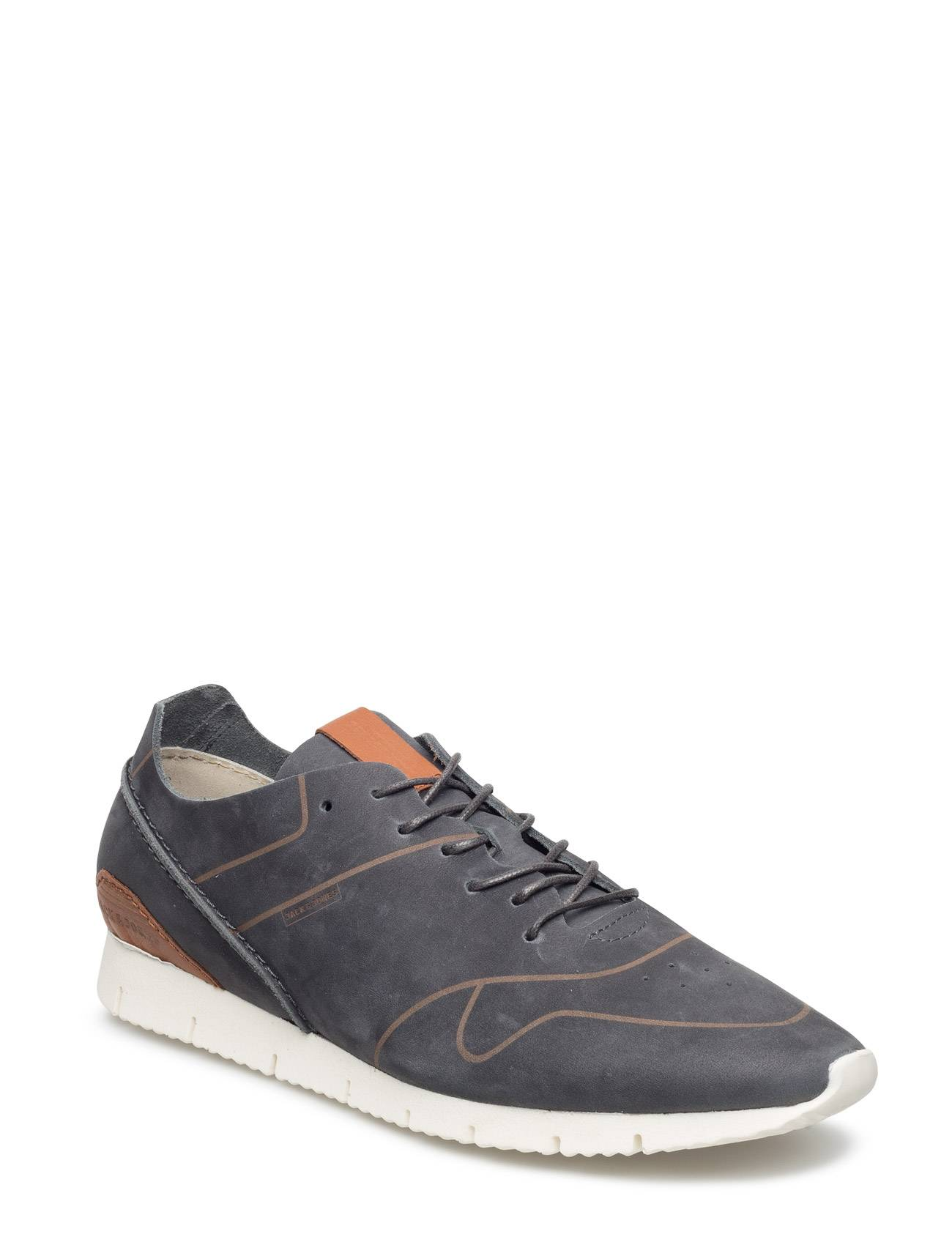 Jack & Jones Jjrobson Leather Sneaker Anthracite