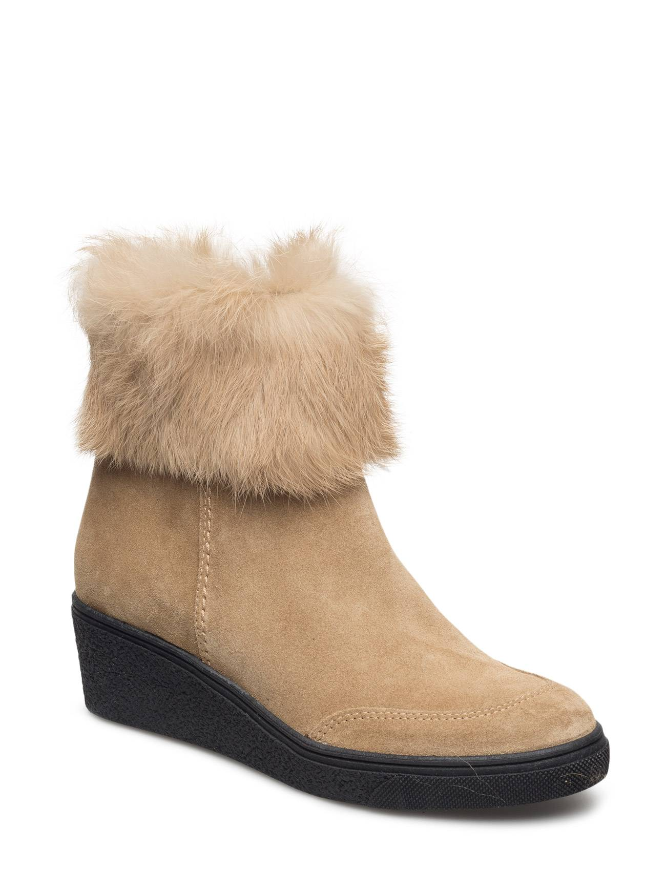 Ilse Jacobsen Ankle Boot W./Fur