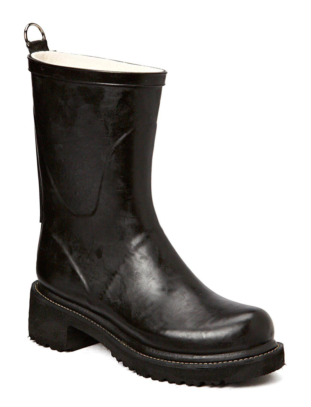 Ilse Jacobsen Rain Boots - Mid Calf With High Heel