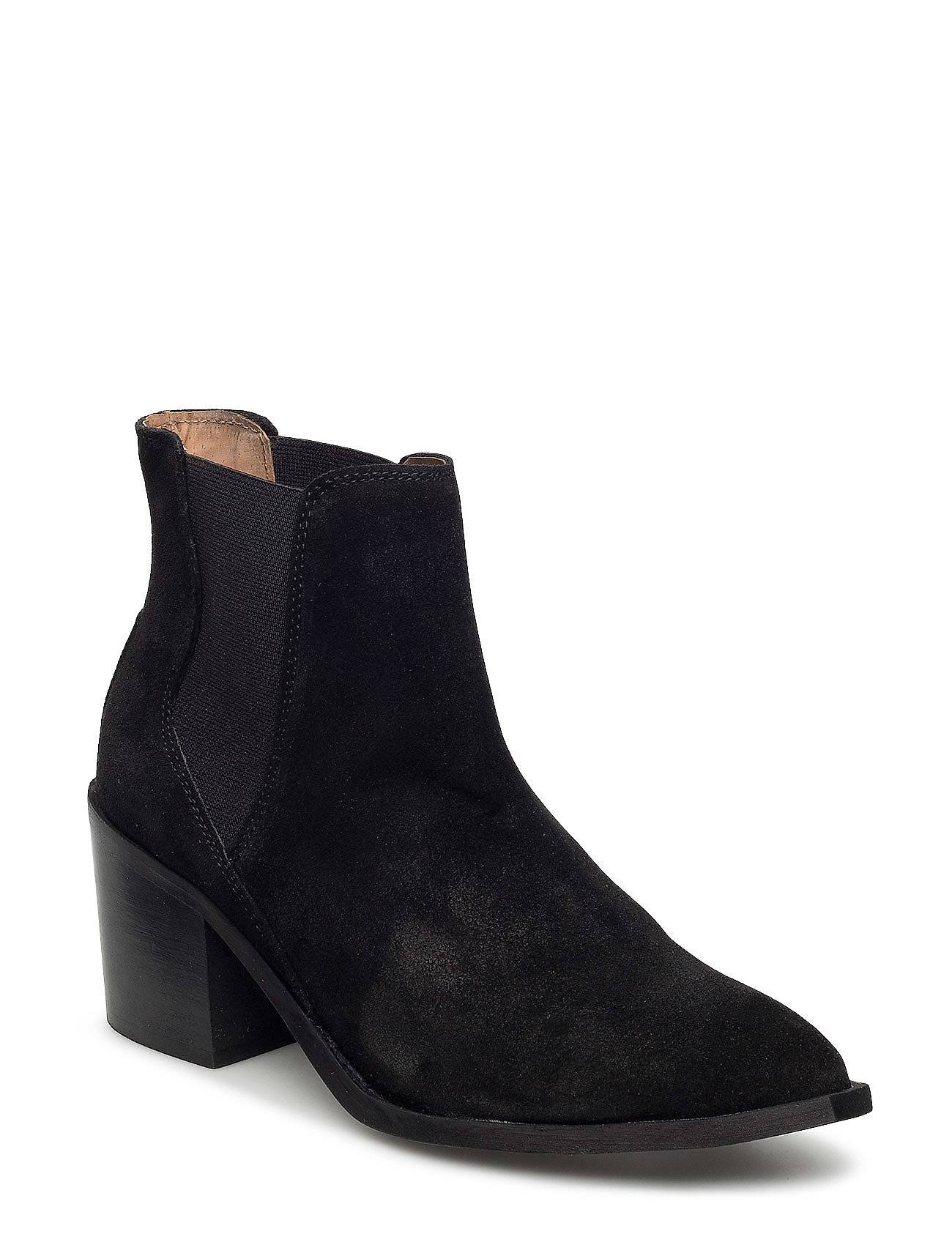 Selected Femme Sfelena High Heel Suede Boot