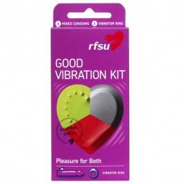 RFSU Good Vibration Kondomit 6 kpl
