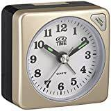 At Time Unisex Analogue White Alarm Clock Plastic A-212 / 8