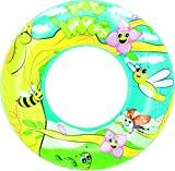 Bestway Designer Swim Ring - 22 inch, Multi-Colour