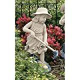 Design Toscano Rebecca, Young Gardener Sculpture