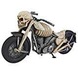 Design Toscano Bone Chillin Skeleton Motorcycle Statue