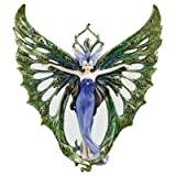 Design Toscano the Winged Peacock Princess Wall Sculpture - Set of 2