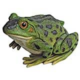Design Toscano Ribbit the Frog, Garden Toad Statue - Set of 2