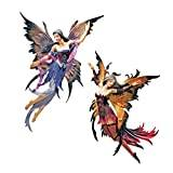 Design Toscano Fairies of the Enchanted Grove Wall Sculptures - Set Includes: Rowan and Willow