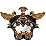 Design Toscano Temple of Karnack Mirrored Wall Sculpture