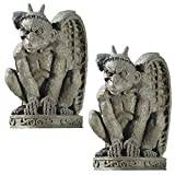 Design Toscano the Cathedral Gargoyle Statue - Set of 2