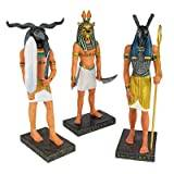 Design Toscano Ancient Egyptian Gods Statue Collection - Khnum, Seth and Sekhmet