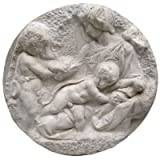 Design Toscano Direct Casting of the Virgin and Child with the Infant St. John Wall Sculpture