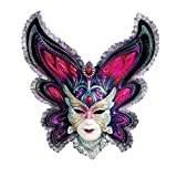 Design Toscano Maidens of Mardi Gras Wall Mask Sculpture - Butterfly Maiden