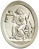 Design Toscano Old Bailey Courthouse Lady Justice Wall Sculpture