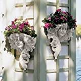 Design Toscano Le Printemps and Le Etoile French Greenmen Wall Sculptures