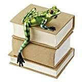 Design Toscano Jungle Forest Tree Frog Shelf Sitter - Set of 2