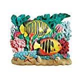 Design Toscano the Great Barrier Reef Fish Wall Sculpture - Royal Angelfish