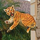 Design Toscano Up a Tree Tiger Cub Statue - Lounging Cub