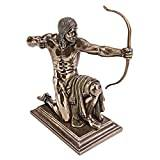 Design Toscano Kneeling Indian with Drawn Bow Statue
