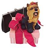 Design Toscano Yip Yap Yorkshire Terrier Puppy Dog Statue