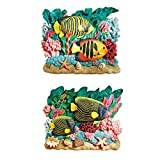 Design Toscano the Great Barrier Reef Fish Wall Sculptures - Set of 2