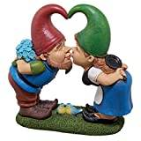Design Toscano Kiss and Tell, Lover Gnomes Statue