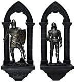 Design Toscano Knights of the Realm 3-Dimensional Wall Sculpture - Sir Gavin and Sir Samuel