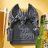 Design Toscano Name Your Poison Wall Plaque - Set of 2