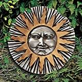 Design Toscano Rising Summer Sun Wall Sculpture
