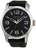 Boss Hugo Boss Orange Mens Quartz Watch, Analogue Classic Display and Silicone Strap 1513350