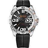 Boss Hugo Boss Orange Mens Quartz Watch, Analogue Classic Display and Silicone Strap 1513285