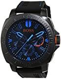 Boss Hugo Boss Orange Mens Quartz Watch, multi dial Display and Silicone Strap 1513242