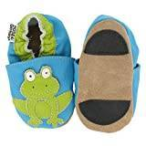 Hobea Germany First-Step Baby Shoes (Size : 20/21, 12 to 18 Months, Frog Design)