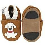 Hobea Germany First-Step Baby Shoes (Size : 20/21, 12 to 18 Months, Dog Fiffi Design)