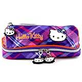 Hello Kitty 00598 Coin Pouch, Violet
