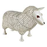 Design Toscano Sheep Settee Sculptural Metal Garden Bench