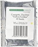 Premier Seeds Direct 9K-ZAFB-C57V Courgette/ Zucchini Yellow/ Golden Seeds (Pack of 40)