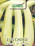 Premier Seeds Direct IPP39 4.0 g Courgette Bianco Di Sicilia Pictorial Packet Seeds (Pack of 32)