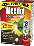 Weedol Rootkill Plus Weedkiller Liquid Concentrate, 6 Plus 2 Tubes Free