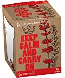 Gift Republic Ltd Grow Me Keep Calm and Carry On