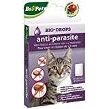 BSI Biopet Insecticide-Free Flea bio-drops + 2Months for Cats and Kittens