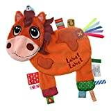 Vital Innovations Label Friends LL-FR1210 Cuddly Toy in Horse Design Brown