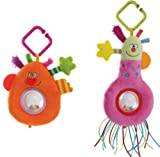 Taf Toys Kooky Rattle (Style May Vary - Orange or Pink)