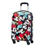 Samsonite American Tourister Disney Legends Spinner Hand Luggage, 55 cm, 32 Litre, Minnie Comics