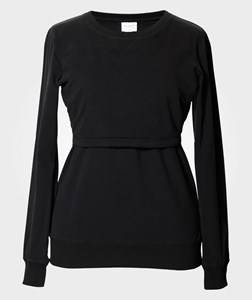 Image of Boob Girls Maternity Clothes Maternity jumpers & cardigans Black B·Warmer sweatshirt Black