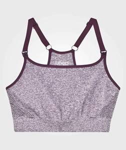 Boob Girls Maternity Clothes Sporting replica Purple Fast Food Soft Sport Bra Purple Mélange