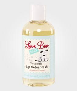 Love Boo Unisex Baby Gear Toiletries White Very Gentle Top-to-toe Wash 250ml