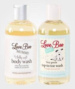 Love Boo Unisex Baby Gear Toiletries White Happy Baby Shower